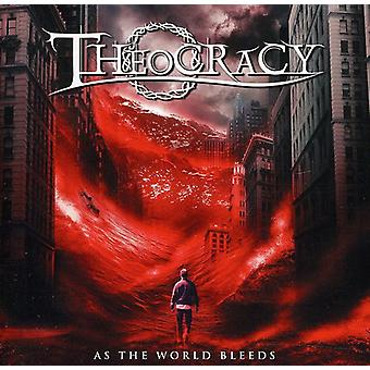 Theocracy - As the World Bleeds [CD] USA import