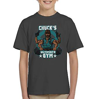 Chucks Ultimate Gym Chuck Norris Kid's T-Shirt