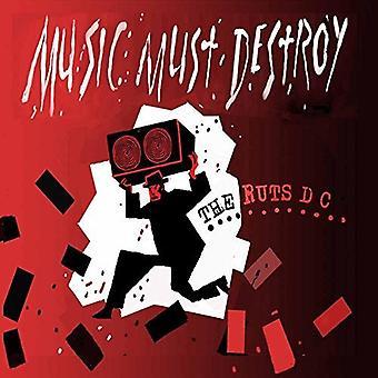 Ruts Dc - Music Must Destroy [Vinyl] USA import