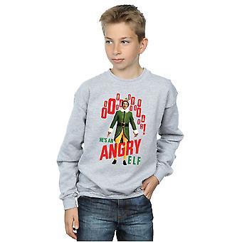 Garçons de Elf Elf en colère Sweatshirt
