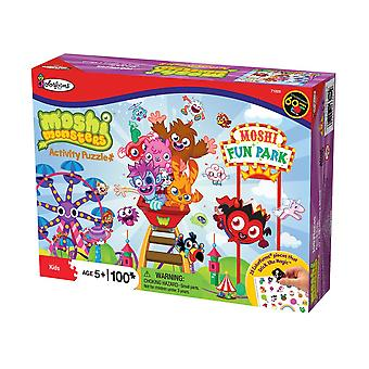 Moshi Monsters Fun Park Activity Jigsaw Puzzle (100 Pieces)