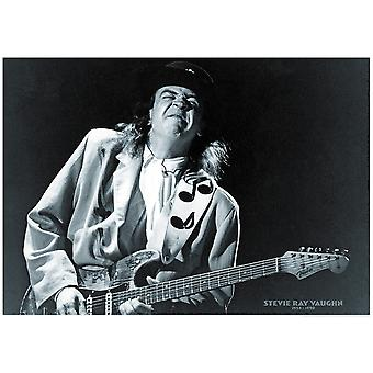 Stevie Ray Vaughan remonte à 1954-1990 affiche Poster Print