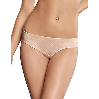 Rosa Faia 1363-593 Women's Caroline Light Rose Pink Check Knickers Panty Full Brief