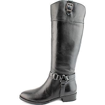 INC International Concepts Womens Fedee Leather Closed Toe Knee High Fashion Boots