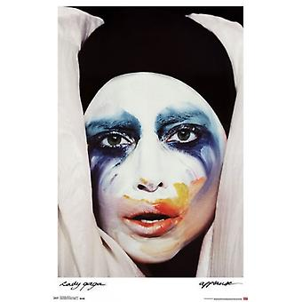 Lady Gaga - applaudissements Poster Print