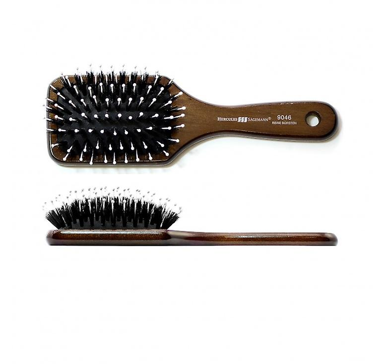 Hercules Sagemann Boar Hair Brush With Pins Mini Paddle