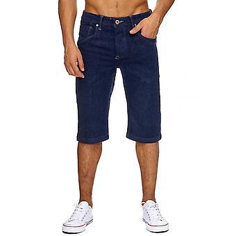 Men's jeans shorts classic men's washed short trousers summer Capri Cargo