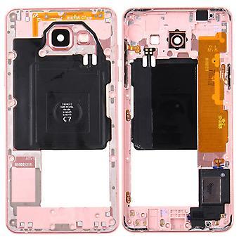 Vitrina de medio marco cámara para Samsung Galaxy A5 2016 A510F rosa