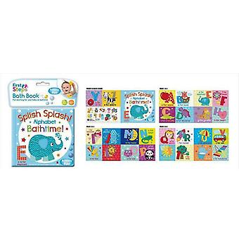 First Steps Bath Book Alphabet Letters Bathtime Fun