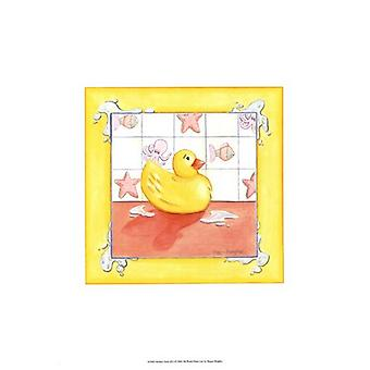 Rubber Duck (D) I Poster Print by Megan Meagher (13 x 19)