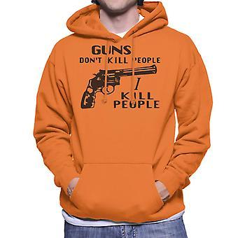 Guns Dont Kill People I Kill People Happy Gilmore Men's Hooded Sweatshirt