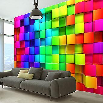 Fototapet - Colourful Cubes