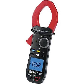 Chauvin Arnoux F403 Clamp meter, Handheld multimeter Digital CAT IV 1000 V Display (counts): 10000