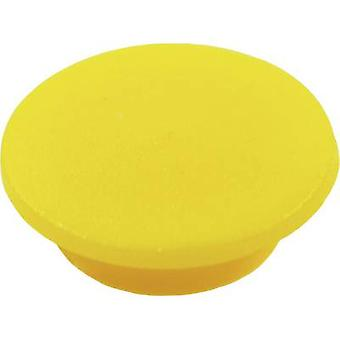 Cliff CL1738 Cover Yellow Suitable for K21 rotary knob 1 pc(s)