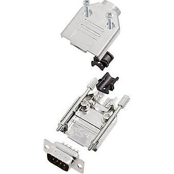 encitech DTPK-M-09-DMP-K 6355-0031-01 D-SUB pin strip set 180 ° Number of pins: 9 Solder bucket 1 Set
