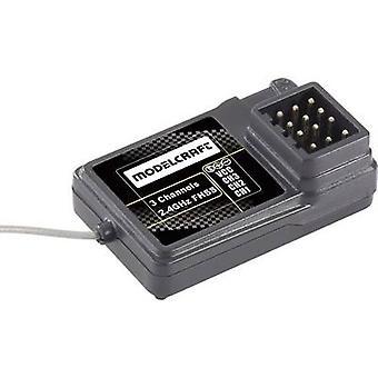3-قناة استقبال موديلكرافت خ-GR3C 2.4 GHz موصل نظام الابن/فوتابا
