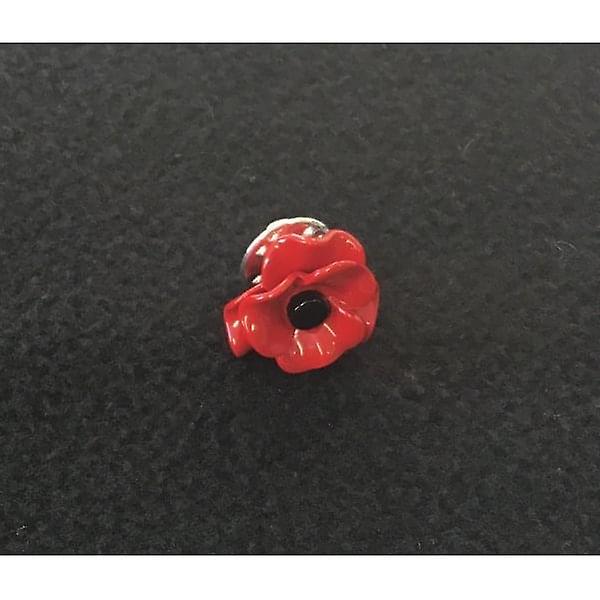 Union Jack Wear  Poppy Lapel Pin