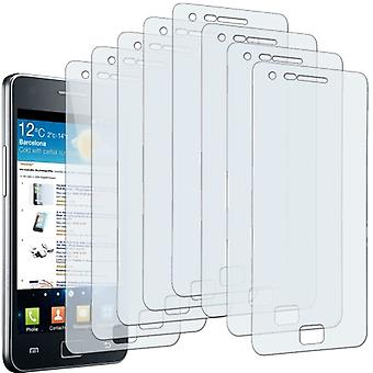 8 X Screen Protector Samsung I9100 Galaxy S Ii Screen Protector Crystal Clear 2 Invisible Film Galaxy S2 Sii Protector