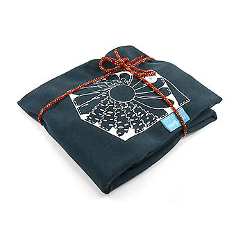 Anchor & Crew Steel Blue Explorer Print Organic Cotton T-shirt (mens)
