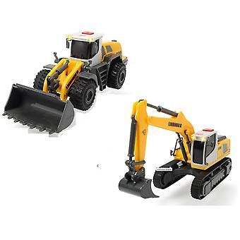 Dickie Toys Jouets de Construction Liebherr effectif - 1 fourni