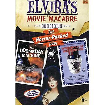 Elvira - Werewolf of Washington/Doomsday Machine [DVD] USA import