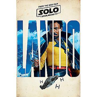 Solo: Un Star Wars historia Lando teaser
