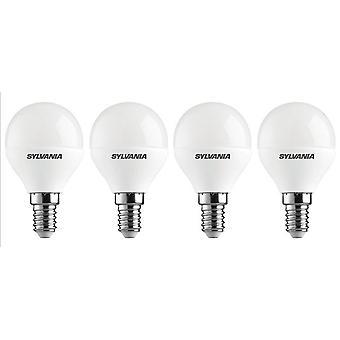 4 x Sylvania ToLEDo boule E14 V3 5.5W lumière LED 470lm [classe énergétique A +]