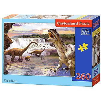 Puzzel Dino's, 260st.