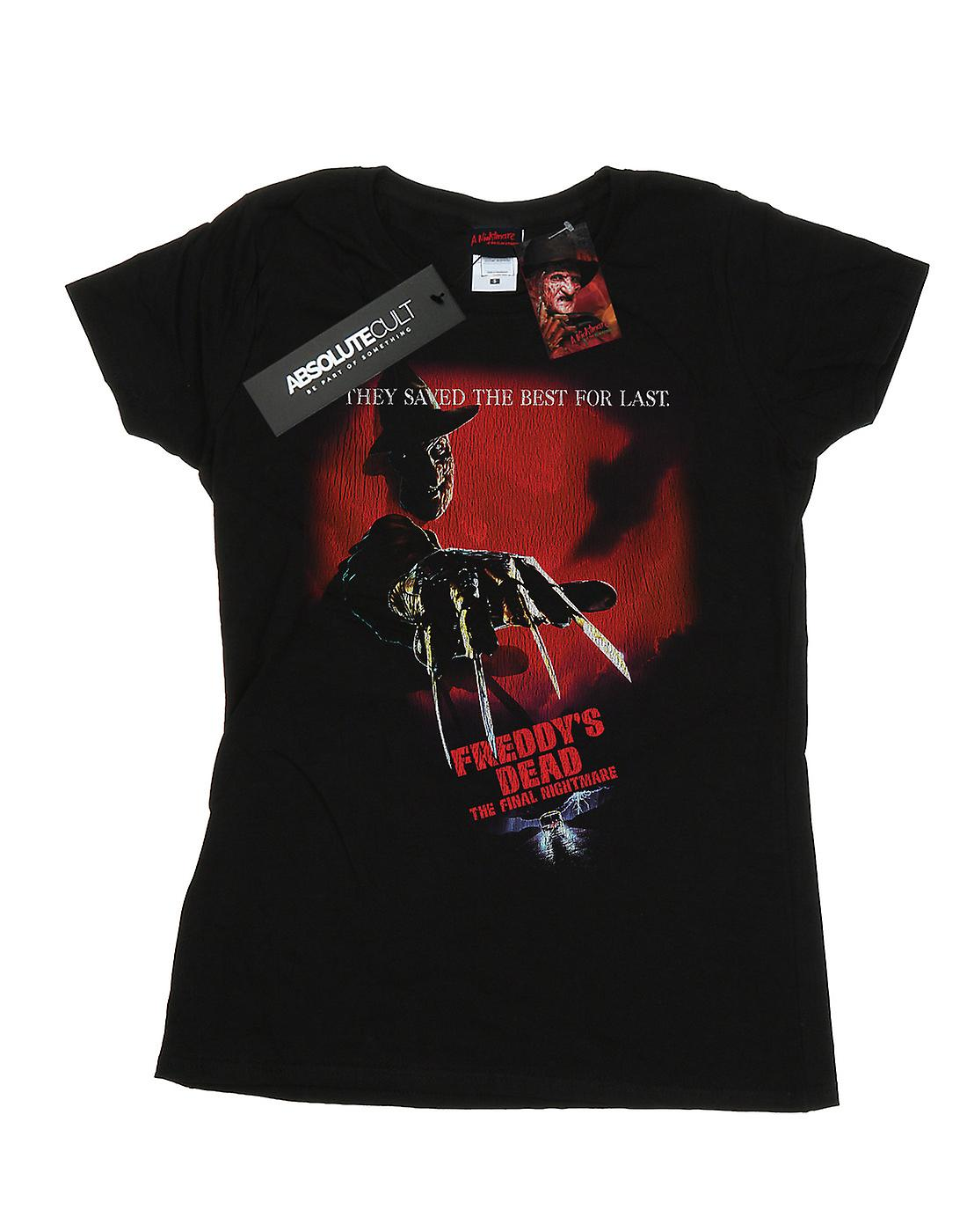 A Nightmare On Elm Street Women's Freddy's Dead T-Shirt