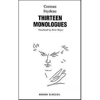 Cocteau - treize Monologues de Jean Cocteau - Georges Feydeau - 9781