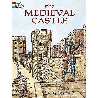 Le château médiéval (livre de coloriage histoire de Douvres)