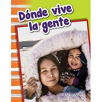 Donde Vive La Gente (waar mensen wonen) (Spanish Version) (primaire bron lezers)
