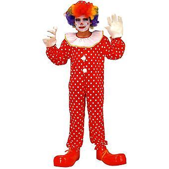 Funny Clown Child Costume