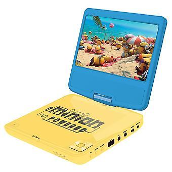 LEXIBOOK Lecteur DVD draagbare DVD-speler (Model nr. DVDP6DES)