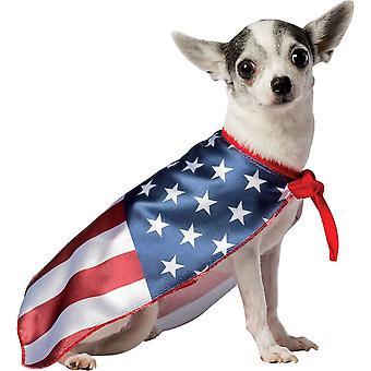 USA Flag Dog Costume 2