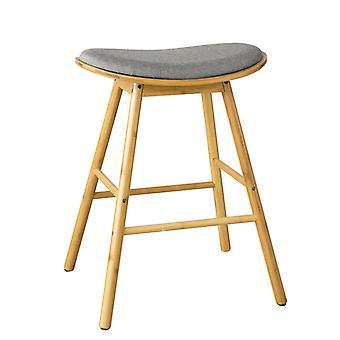 SoBuy Padded Breakfast Bar Stool Curved Upholstered High Seat 70 cm,FST57-DG