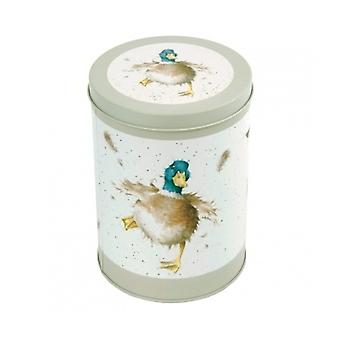 Wrendale Designs Round Canister Storage Tin