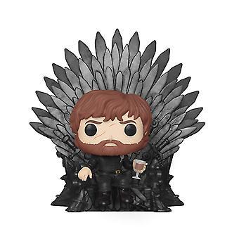FUNKO POP! DELUXE: Gioco di troni - Tyrion seduto sul trono