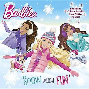 Snow Much Fun! (Barbie) by Mary Man-Kong - 9780553523386 Book