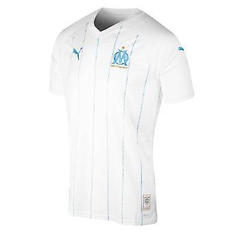 2019-2020オリンピックマルセイユプーマホームフットボールシャツ