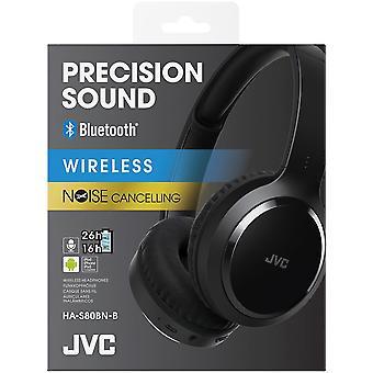 JVC Circumaural Head-Band Headphones with Noise Cancelling - Black (HAS80BNBE)