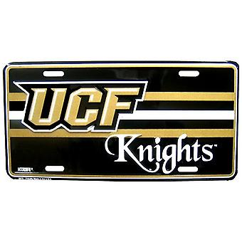 Plaque d'immatriculation NCAA des Chevaliers UCF