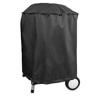Charles Bentley Bbq Premium Polyester Leinwand Black Waterproof Kettle Bbq Cover-Black
