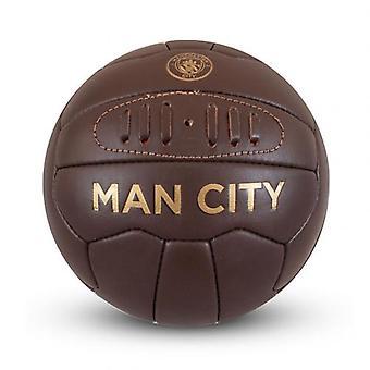 Manchester City Retro Heritage Mini Ball