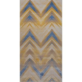 Pierre Cardin projekt dywan w akryl krem / niebieski