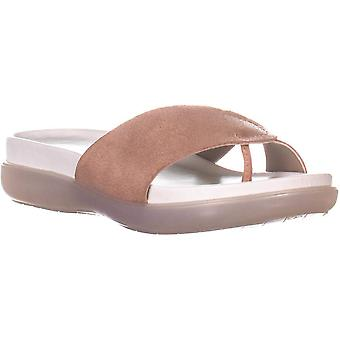 Donald J Pliner Womens Hollie Leather Open Toe Casual Slide Sandals