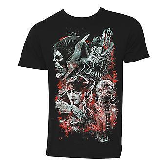 Avengers Infinity War Children of Thanos Men's Black T-Shirt