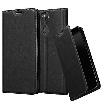 Cadorabo Hülle für Sony Xperia XA2 PLUS Case Cover - Handyhülle mit Magnetverschluss, Standfunktion und Kartenfach – Case Cover Schutzhülle Etui Tasche Book Klapp Style
