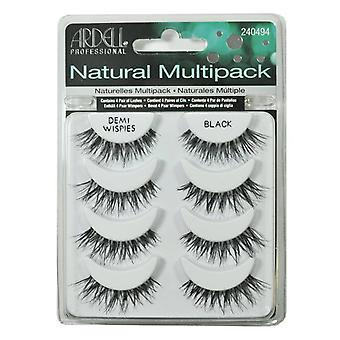 Ardell Natural Individual Multipack Demi Wispies Eyelashes - Black