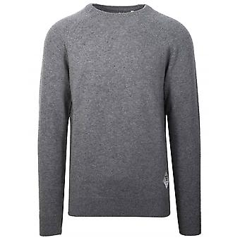 Barbour Beacon Grey Wool Jumper